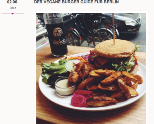 Veggie Love Vegane Burger